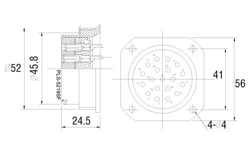 PLS-5219SF-drawing