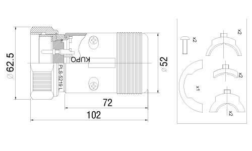 PSL-5219LM-drawing